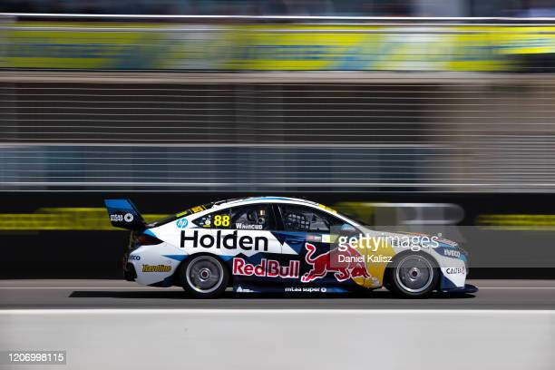 Jamie Whincup drives the Red Bull Holden Racing Team Holden Commodore ZB during the 2020 Supercars Test Day at Tailem Bend on February 18 2020 in...