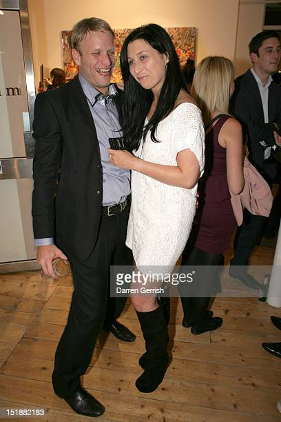 Jamie Wood and Anna Abramovich attend the launch party of SCREAM Gallerys new venue and the private view for Ye Hongxing on September 12 2012 in...