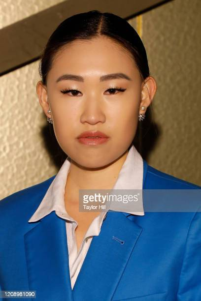 Jamie Xie attends the press preview of About Time Fashion and Duration the 2020 Metropolitan Museum of Art Costume Institute exhibition at Musee...