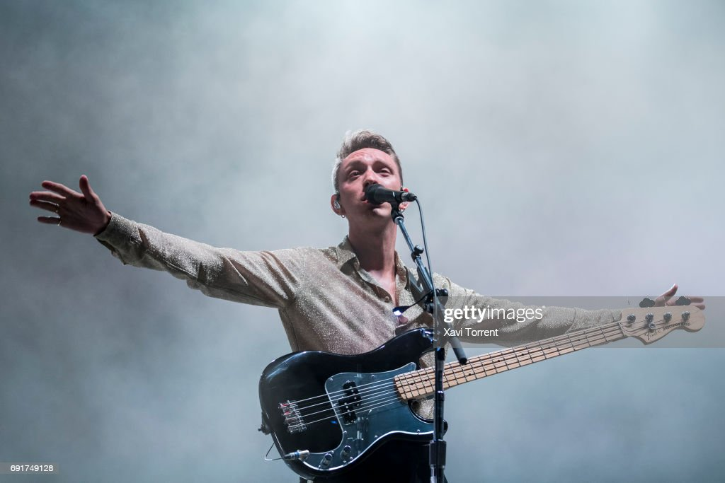 Jamie xx of The XX performs in concert during day 3 of Primavera Sound 2017 on June 2, 2017 in Barcelona, Spain.