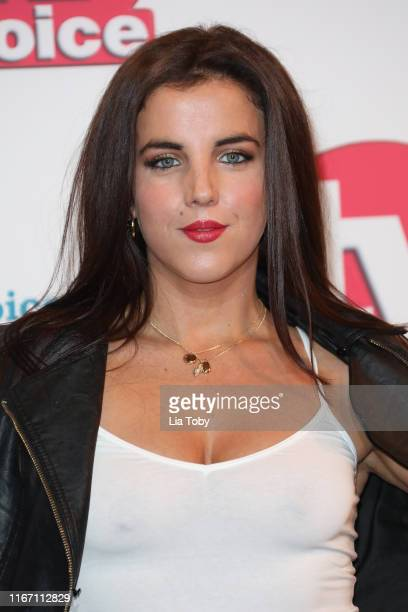 JamieLee O'Donnell attends The TV Choice Awards 2019 at Hilton Park Lane on September 9 2019 in London England