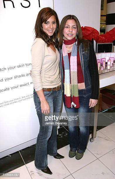 JamieLynn DiScala and Alyssa Nowark during JamieLynn DiScala 'Cleans' House at Sephora at Sephora Soho in New York City New York United States
