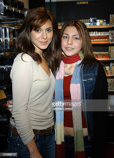 JamieLynn DiScala and winner Alyssa Nowark during JamieLynn DiScala takes 'Clean Girl' Contest Winner on Shopping Spree at Sephora Soho in New York...