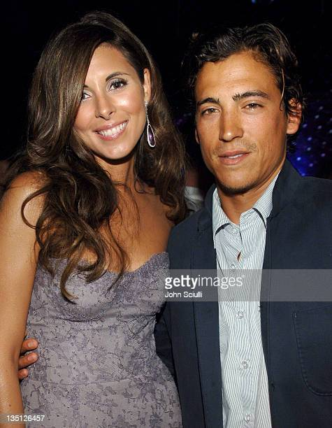 JamieLynn Sigler and Andrew Keegan during 58th Annual Primetime Emmy Awards HBO After Party Red Carpet and Inside at Pacific Design Center in West...