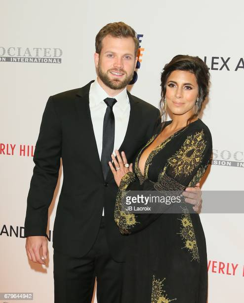 JamieLynn Sigler and Cutter Dykstra attend the 24th Annual Race To Erase MS Gala on May 05 2017 in Beverly Hills California
