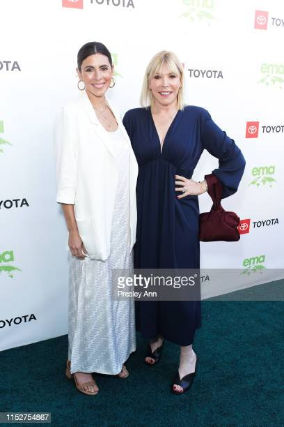JamieLynn Sigler and Debbie Levin attend 29th Annual Environmental Media Awards at The Montage Beverly Hills on May 30 2019 in Beverly Hills...