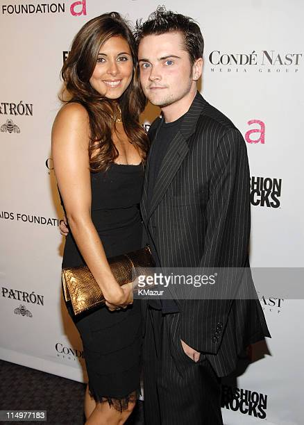 JamieLynn Sigler and Robert Iler at Conde Nast Media Group presents Elton John and the debut of his new album 'The Captain The Kid' at the official...