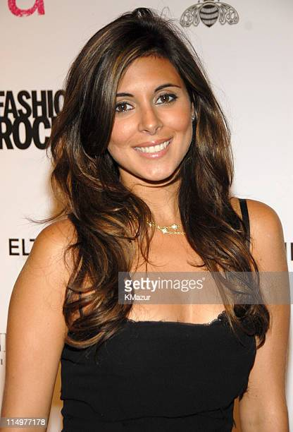 JamieLynn Sigler at Conde Nast Media Group presents Elton John and the debut of his new album 'The Captain The Kid' at the official Fashion Rocks'...