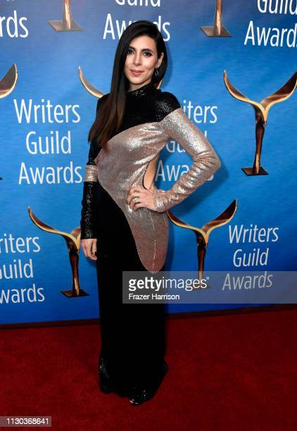 JamieLynn Sigler attends the 2019 Writers Guild Awards LA Ceremony at The Beverly Hilton Hotel on February 17 2019 in Beverly Hills California