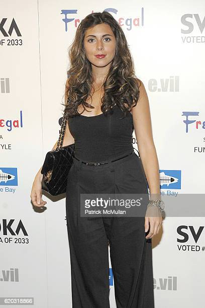 JamieLynn Sigler attends The Svedka Vodka and Evil TShirt Launch Event to Benefit Heal The Bay event at Fred Segal at Fred Segal Fun on April 22 2008...