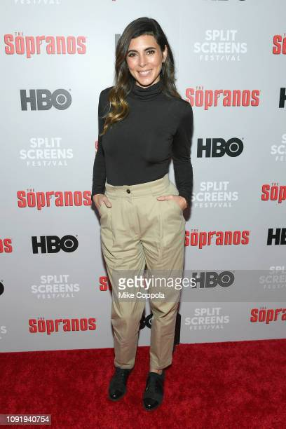 JamieLynn Sigler attends the The Sopranos 20th Anniversary Panel Discussion at SVA Theater on January 09 2019 in New York City