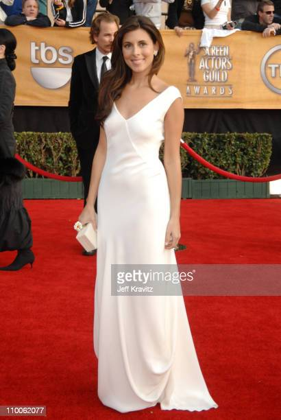 JamieLynn Sigler during 13th Annual Screen Actors Guild Awards Arrivals at Shrine Auditorium in Los Angeles California United States