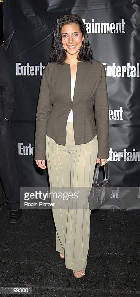 JamieLynn Sigler during Entertainment Weekly Oscar Viewing Party at Elaine's Restaurant in New York NY United States