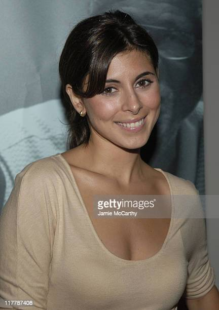JamieLynn Sigler during Grey Goose Entertainment and Sundance Channel in Association with Conde Nast Media Group Celebrate the Launch of Iconoclasts...