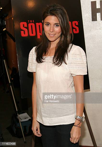 JamieLynn Sigler during New York City Screening of the Series Finale of The Sopranos Arrivals at Home Box Office Theater in New York City New York...