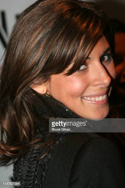 Jamie-Lynn Sigler during ''Rent'' New York City Premiere - Arrivals at Ziegfeld Theater in New York City, New York, United States.
