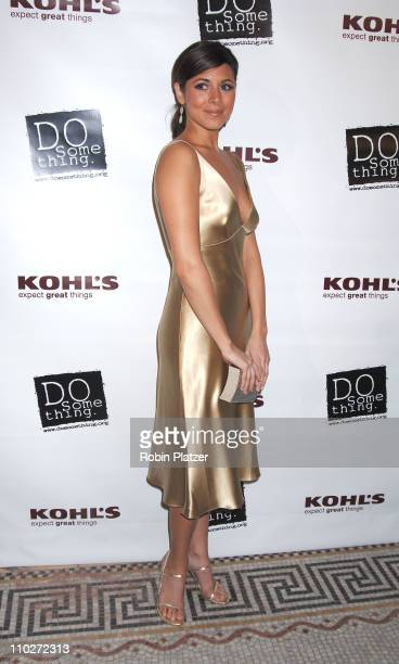JamieLynn Sigler during The 2006 Do Something Brick Award Honoring Young Change Makers Sponsored by Kohls at Capitale in New York New York United...