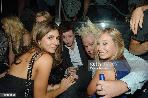 Jamie-Lynn Sigler, Kevin Connolly, Ken Dillon and guest attend Danny A's birthday celebration at The Bank Nightclub at Bellagio Hotel and Casino...