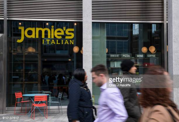 Jamie's Italian Victoria as his chain of Italian restaurants was forced to pull meat dishes from its menu as food watchdogs found serious hygiene and...