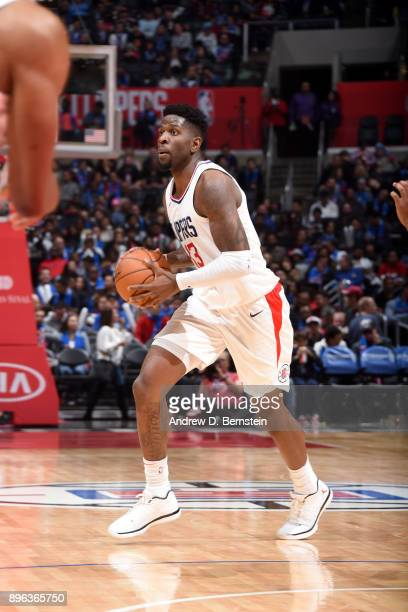 Jamil Wilson of the LA Clippers handles the ball against the Phoenix Suns on December 20 2017 at STAPLES Center in Los Angeles California NOTE TO...