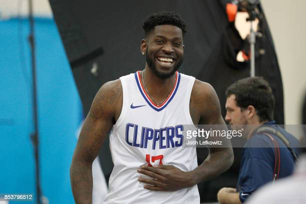 Jamil Wilson of the Los Angeles Clippers is seen during media day at the Los Angeles Clippers Training Center on September 25 2017 in Playa Vista...