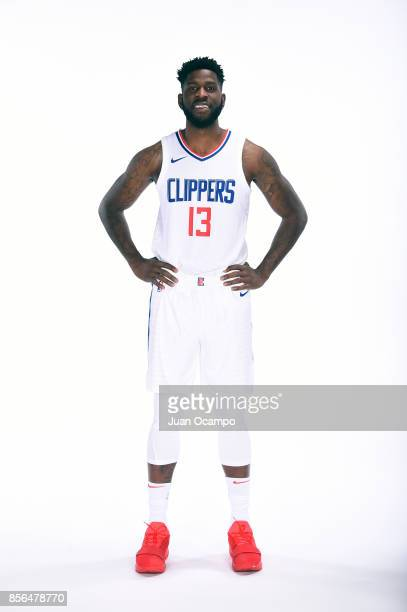 Jamil Wilson of the Los Angeles Clippers poses for a portrait during the 201718 NBA Media Day at the Los Angeles Clippers Training Center on...