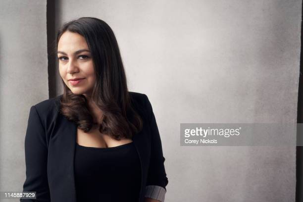 Jamila Ephron of the film 'Woodstock Three Days That Defined a Generation' poses for a portrait during the 2019 Tribeca Film Festival at Spring...