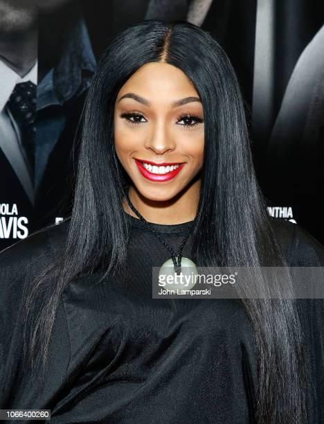 Jamila Mustafa attends Widows New York Special Screening at Brooklyn Academy of Music on November 11 2018 in New York City