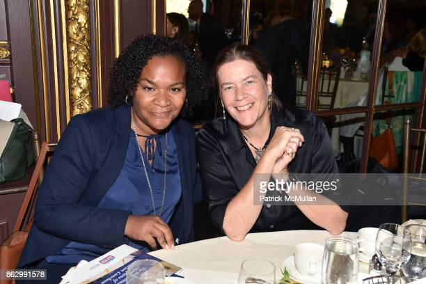 Jamila Ponton Bragg and Ariadne CalvoPlatero attend Brooke Shields joins Teaching Matters in promoting the need for strong early literacy programs in...
