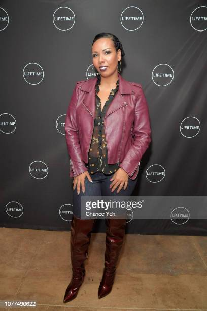 Jamilah Lamieux attends Lifetime / NeueHouse Luminaries series 'Surviving R Kelly' documentary screening and conversation at Neuehouse NY on December...