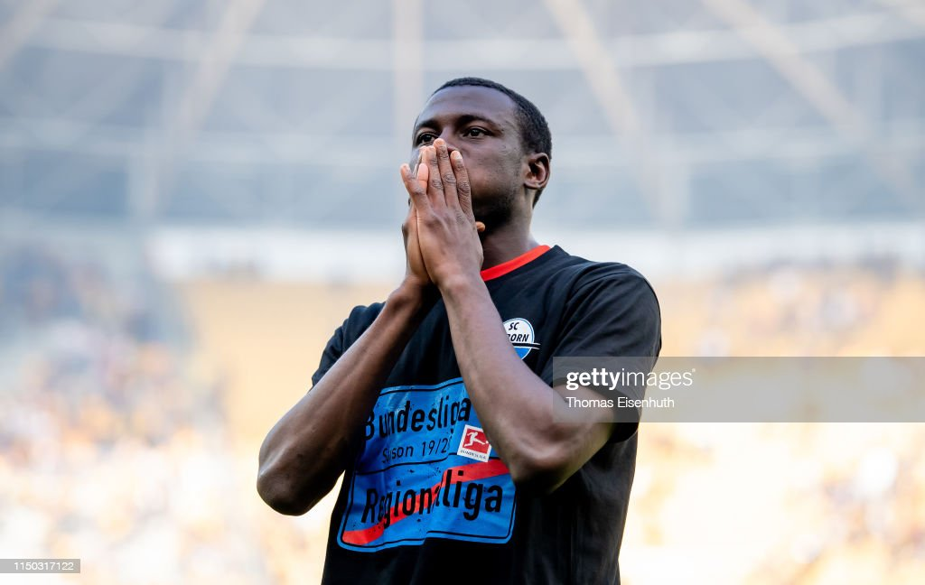 SG Dynamo Dresden v SC Paderborn 07 - Second Bundesliga : News Photo