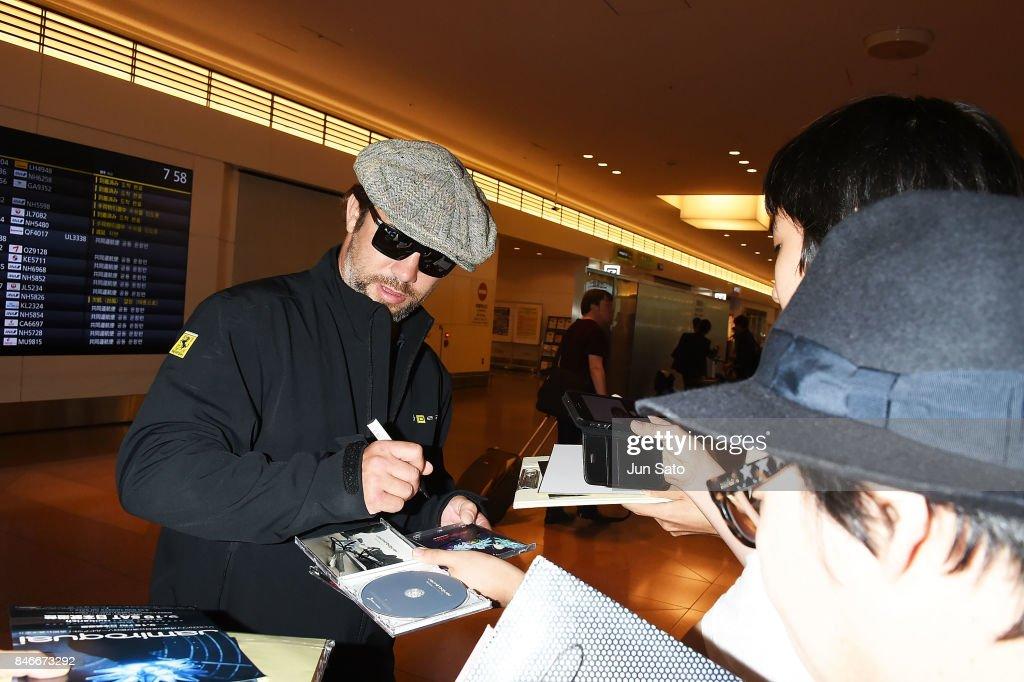 Jamiroquai Arrives In Tokyo : News Photo