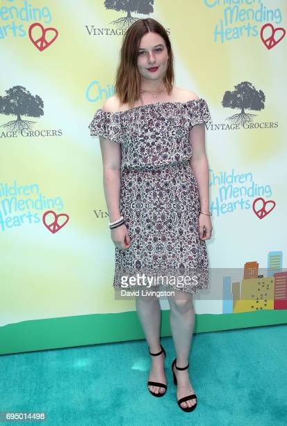 Jamison Bess Belushi attends Children Mending Hearts' 9th Annual Empathy Rocks at a private residence on June 11 2017 in Bel Air California