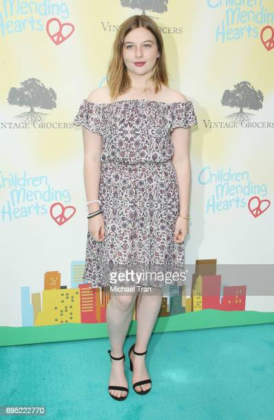 Jamison Bess Belushi attends the Children Mending Hearts 9th Annual Empathy Rocks Fundraiser held at Private Residence on June 11 2017 in Beverly...