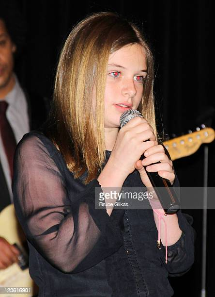Jamison Bess Belushi performs at The Opening Night After Party for Born Yesterday on Broadway at The Edison Ballroom on April 24 2011 in New York City