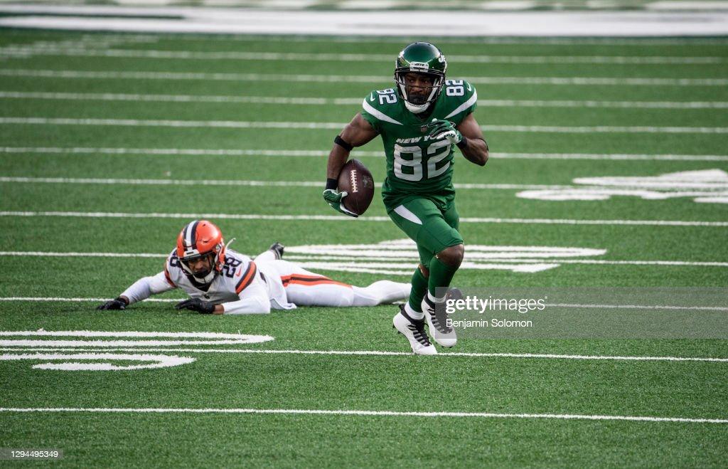Cleveland Browns v New York Jets : News Photo