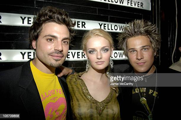 Jamison Ernest Lydia Hearst and Ryan Cabrera during Yellow Fever Store Opening Hosted by Petra Nemcova and Ryan Cabrera at Yellow Fever Store in New...