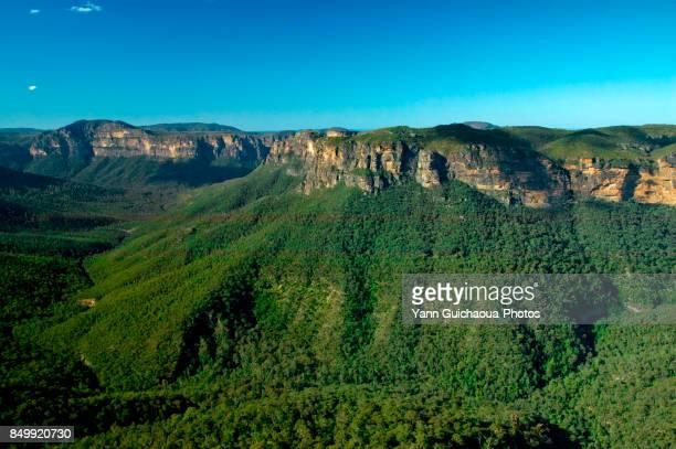 Jamison valley, Blue Mountains,  New South Wales, Australia