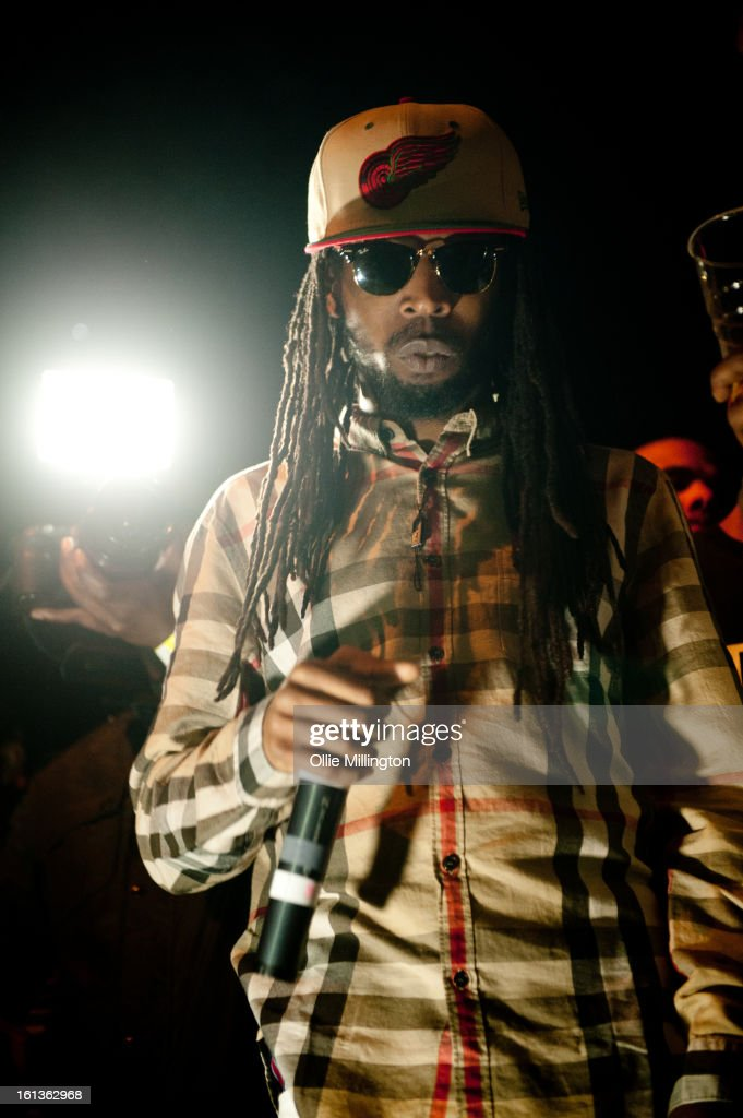 Jammer performs on stage at 'The Eskimo Dance' at 02 Academy on February 9, 2013 in Leicester, England.