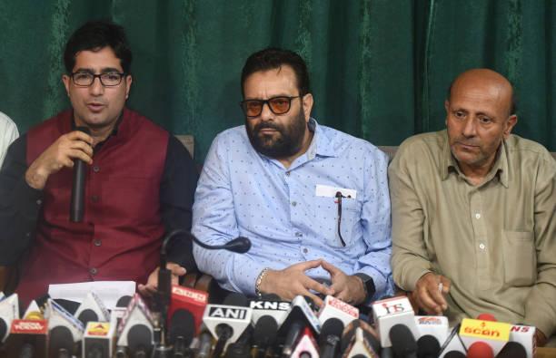 IND: Shah Faesal, Engineer Rashid Announce Pre-Poll Alliance