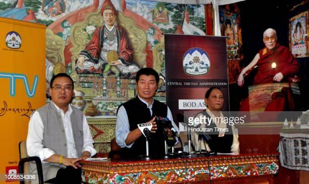 Jamphel Wangdue Chairman of Religion and Cultural Affairs for Arunachal Pradesh CTA President Dr Lobsang Sangay and Tsewang Dolma Shosur Additional...