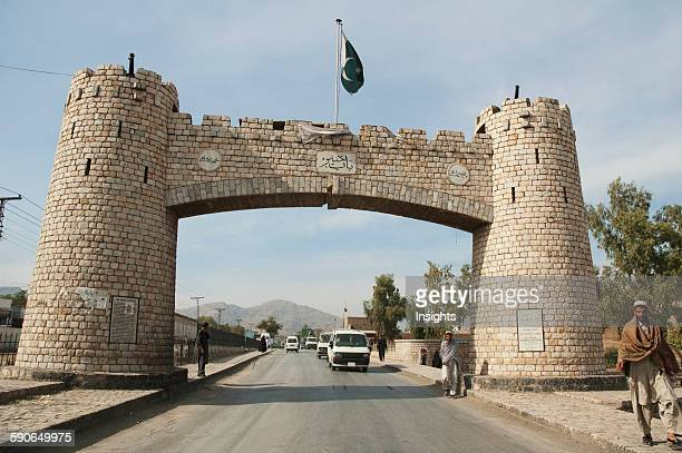Jamrud Gate To The Khyber Pass On The Outskirts Of Peshawar Federally Administered Tribal Areas Pakistan