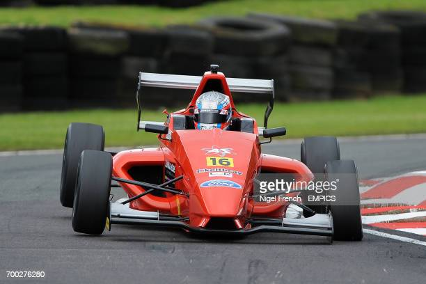 Jamun Racing's Ashley Sutton during Round 11 of the Dunlop MSA Formula Ford Championship