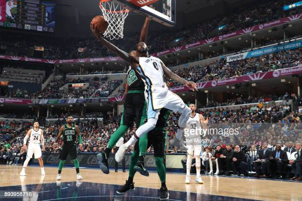 JaMychal Green of the Memphis Grizzlies dunks against the Boston Celtics on December 16 2017 at FedEx Forum in Memphis Ohio NOTE TO USER User...