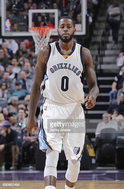JaMychal Green of the Memphis Grizzlies looks on during the game against the Sacramento Kings on December 31 2016 at Golden 1 Center in Sacramento...