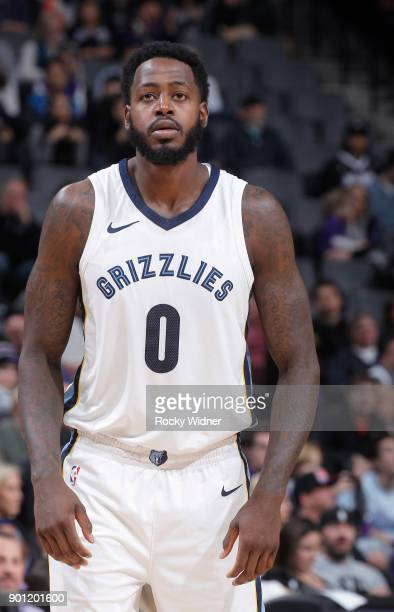 JaMychal Green of the Memphis Grizzlies looks on during the game against the Sacramento Kings on December 31 2017 at Golden 1 Center in Sacramento...