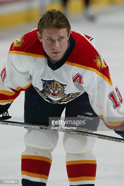 Pavel Bure of the Florida Panthers during the game against the Phoenix Coyotes at National Car Rental Center in Sunrise, Florida. The Coyotes beat...