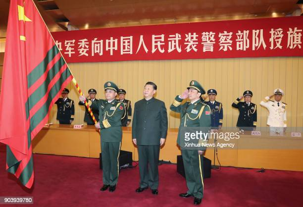 BEIJING Jan 10 2018 Chinese President Xi Jinping also general secretary of the Communist Party of China Central Committee and chairman of the Central...