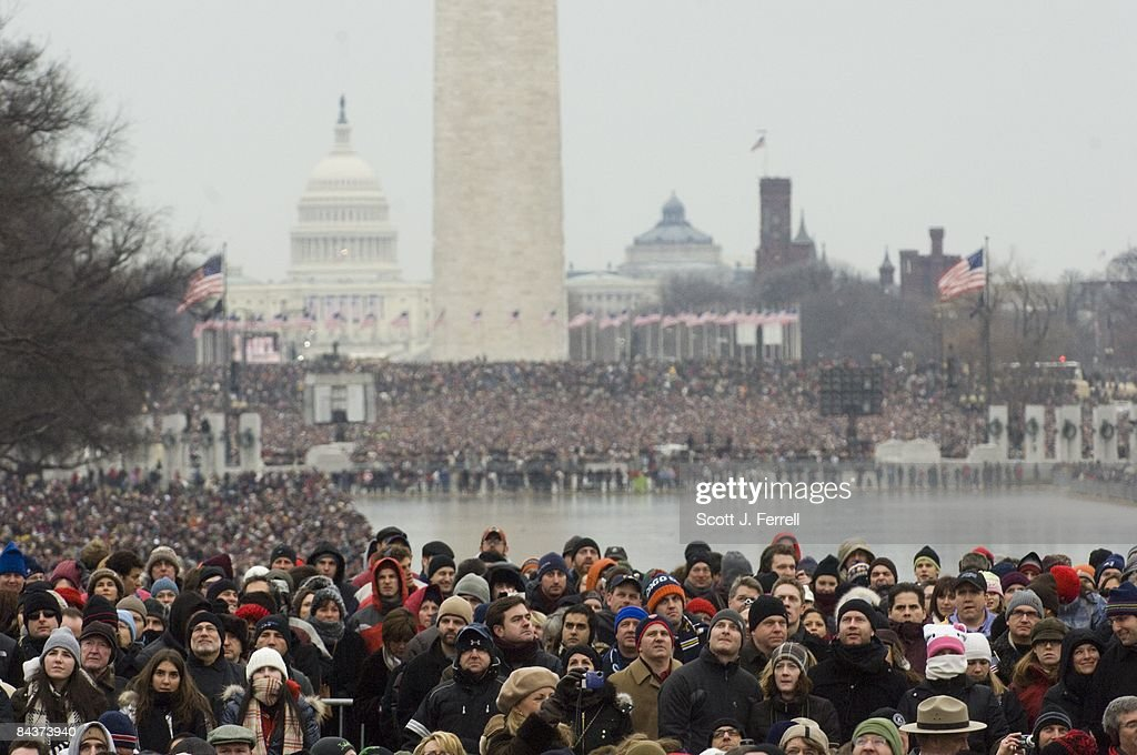 We Are One: Opening Inaugural Celebration at the Lincoln Memorial : News Photo