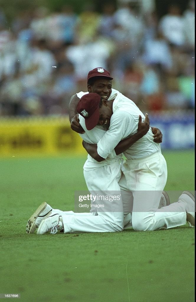 West Indies players : ニュース写真